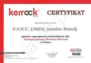 certyfikat-kerrock